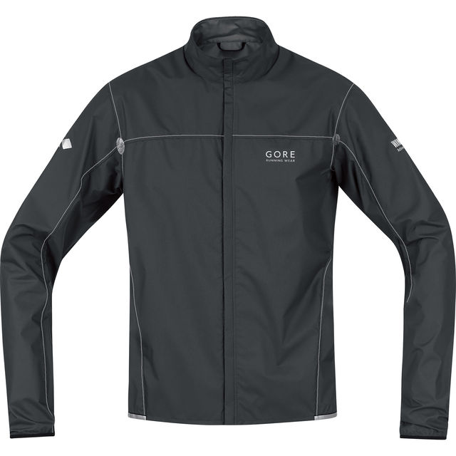 Gore X-RUNNING LIGHT AS Jacke in Black/Silver Grey