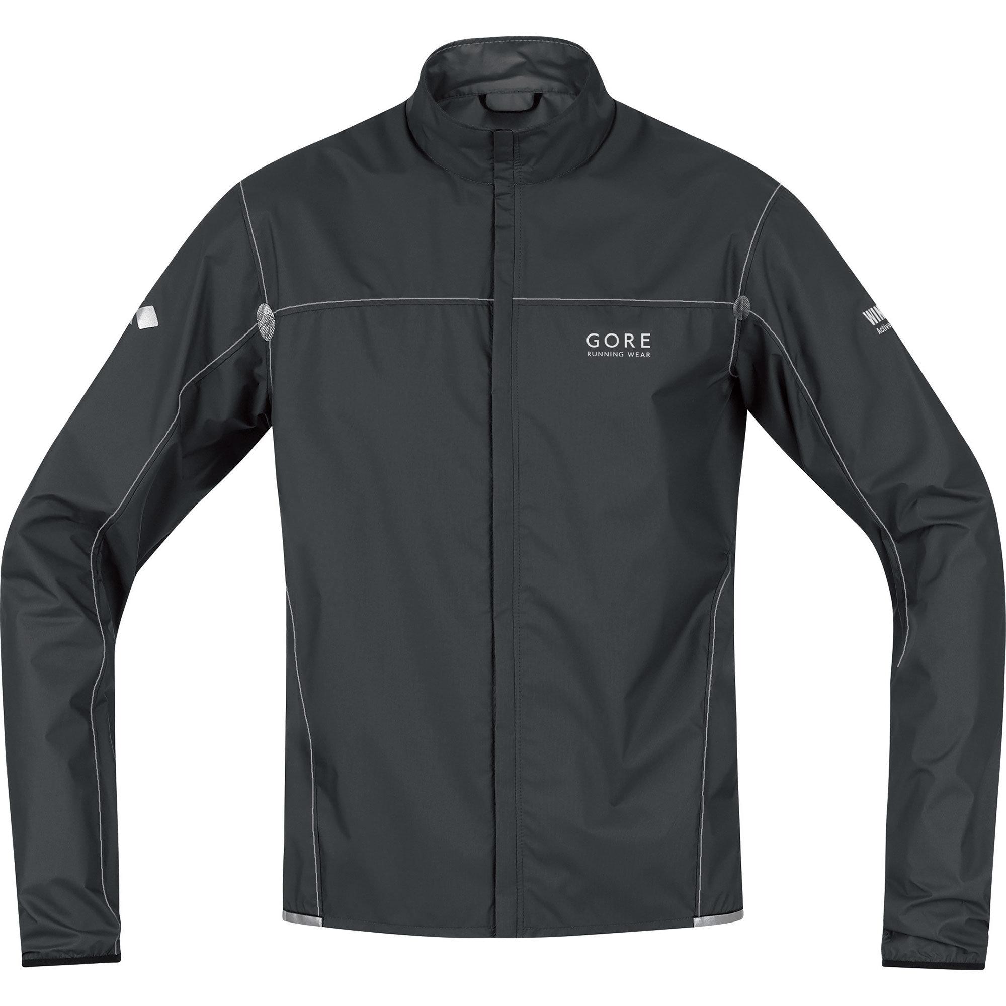 Gore X-RUNNING LIGHT AS Jacke in Black/Silver Grey