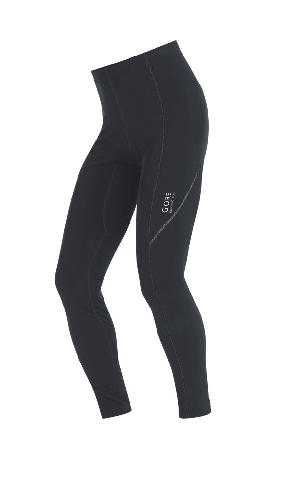 Gore ESSENTIAL Thermo Tights in Black