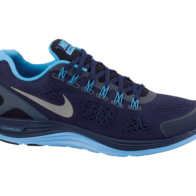 Nike Lunarglide 4 in Blau