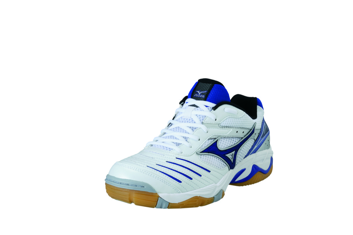 Mizuno Wave Rally 3 in Weiß Blau