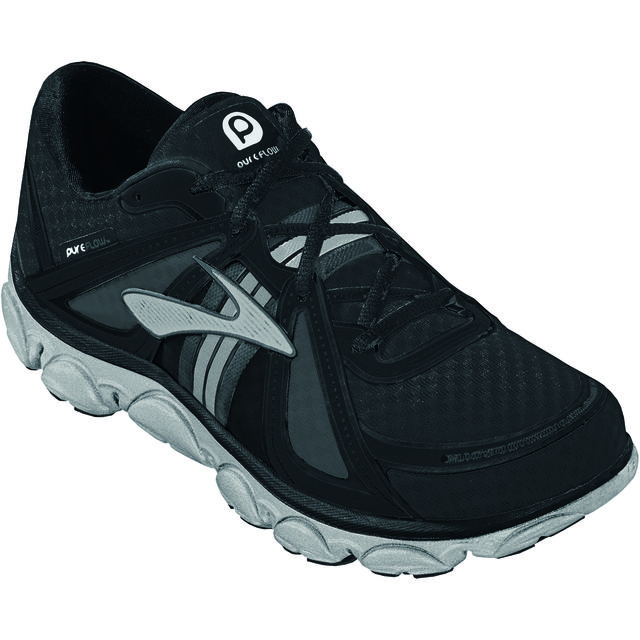 Brooks Kids Pure Flow in Schwarz