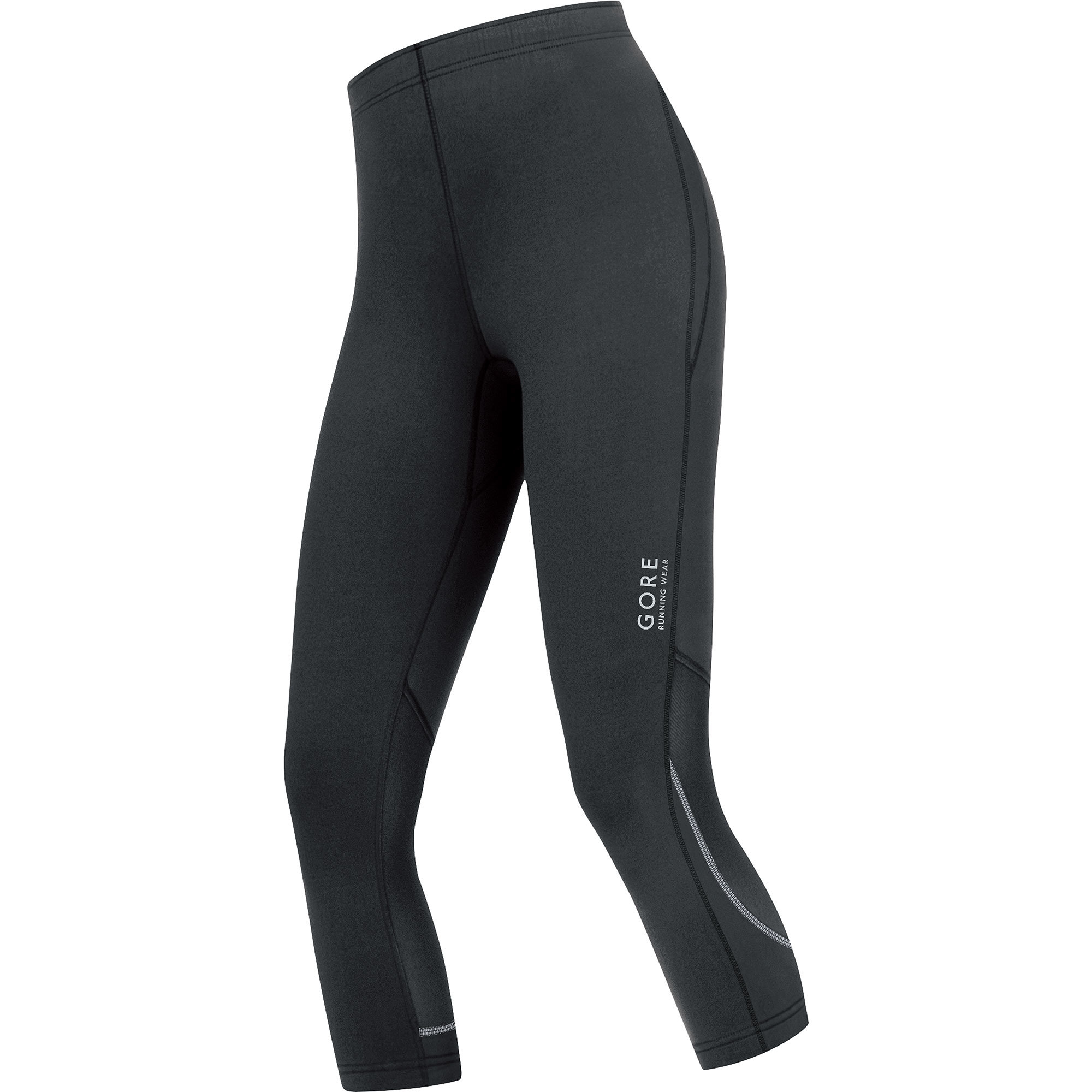 Gore Essential 2.0 LADY Tights 3/4 in Black