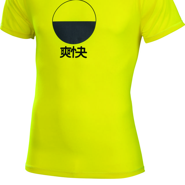 Asics Soukai Tee in Safety Yellow