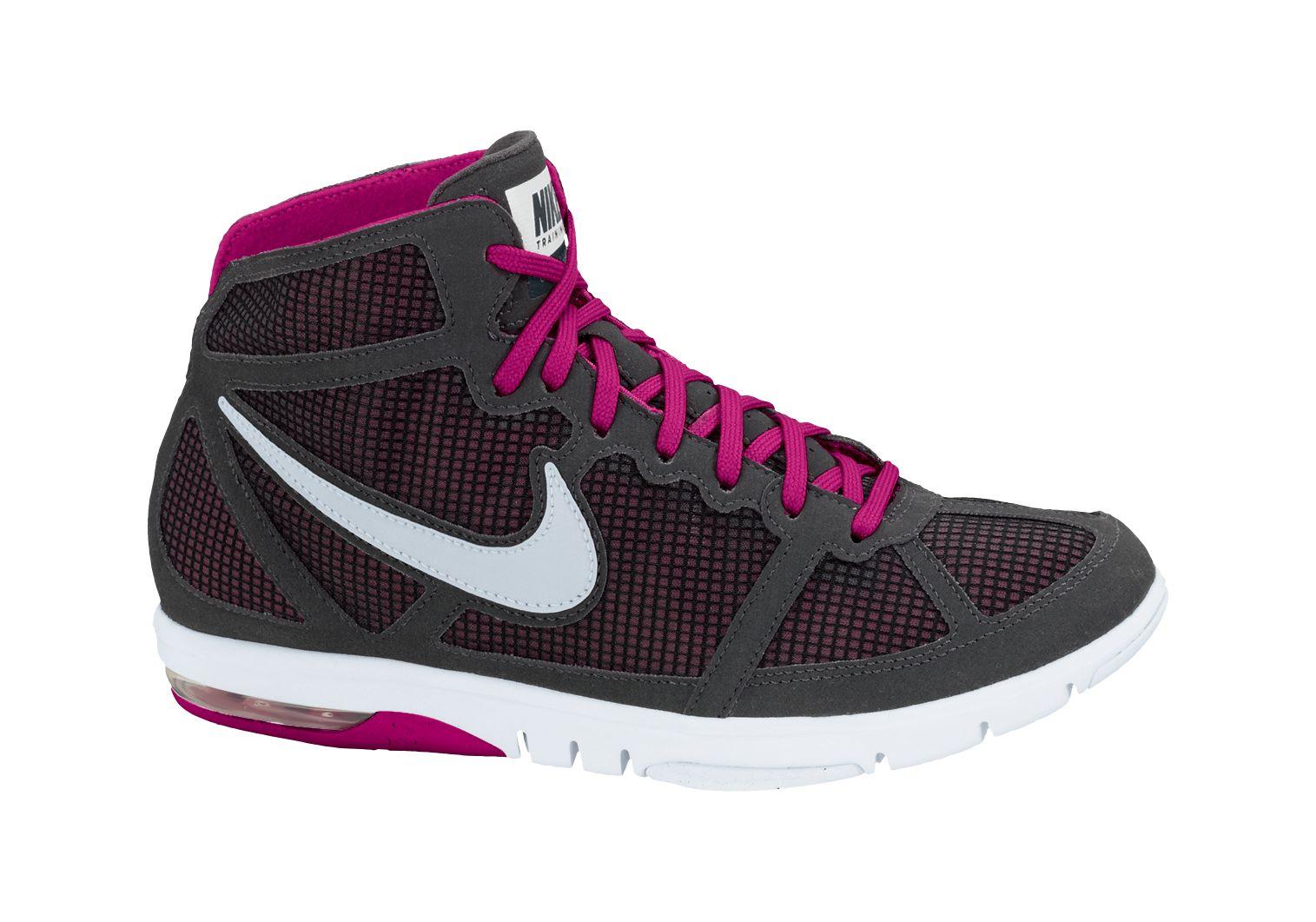 Nike Lady Air Max S2S mid in Schwarz Weiß