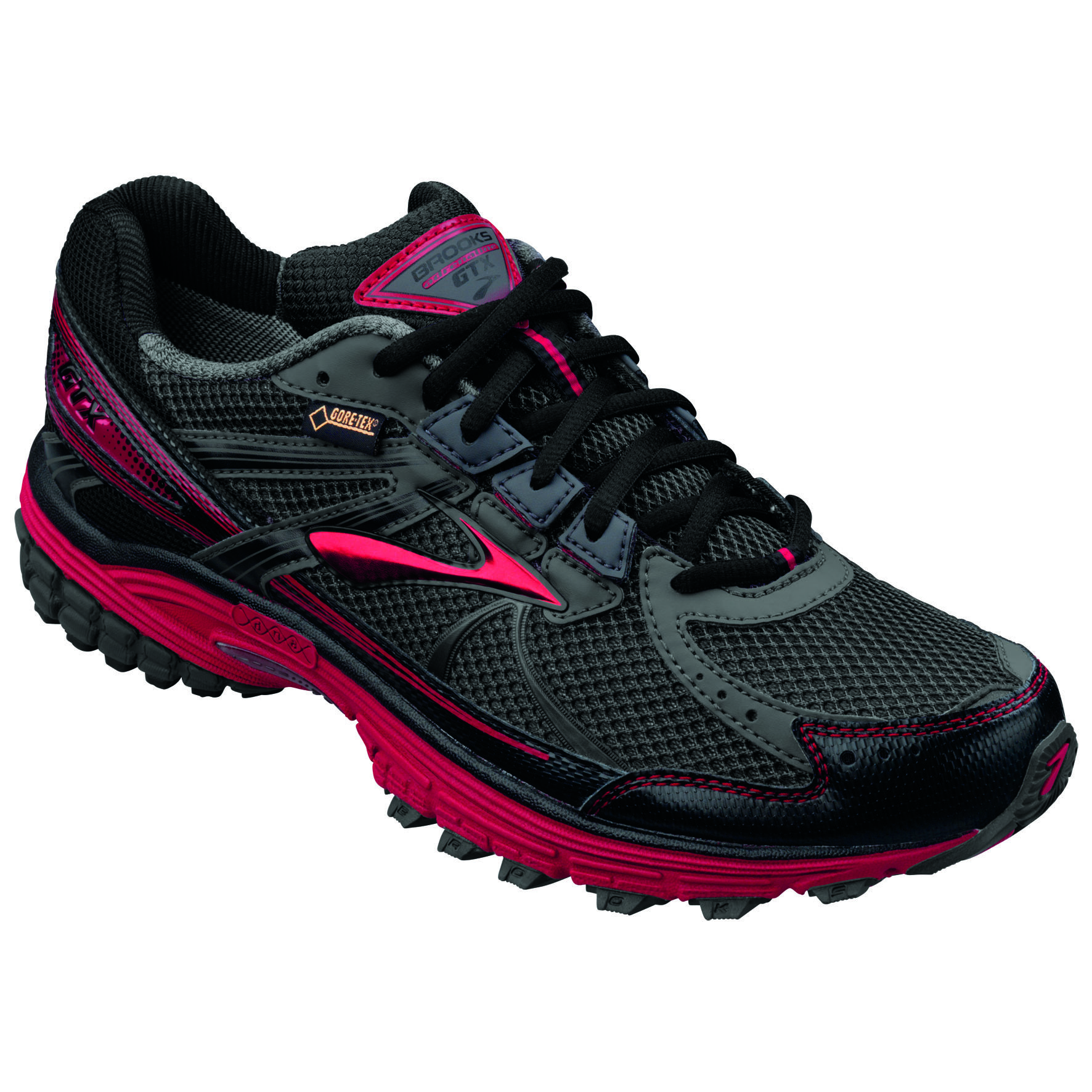 Brooks Adrenaline ASR GTX in Schwarz Rot