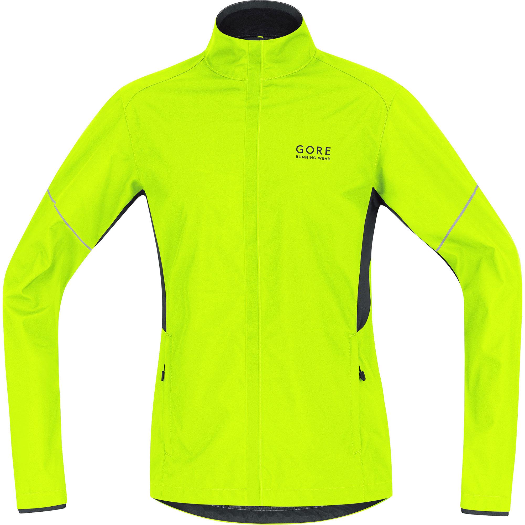 Gore Essential AS Partial Jacket in Neon Gelb