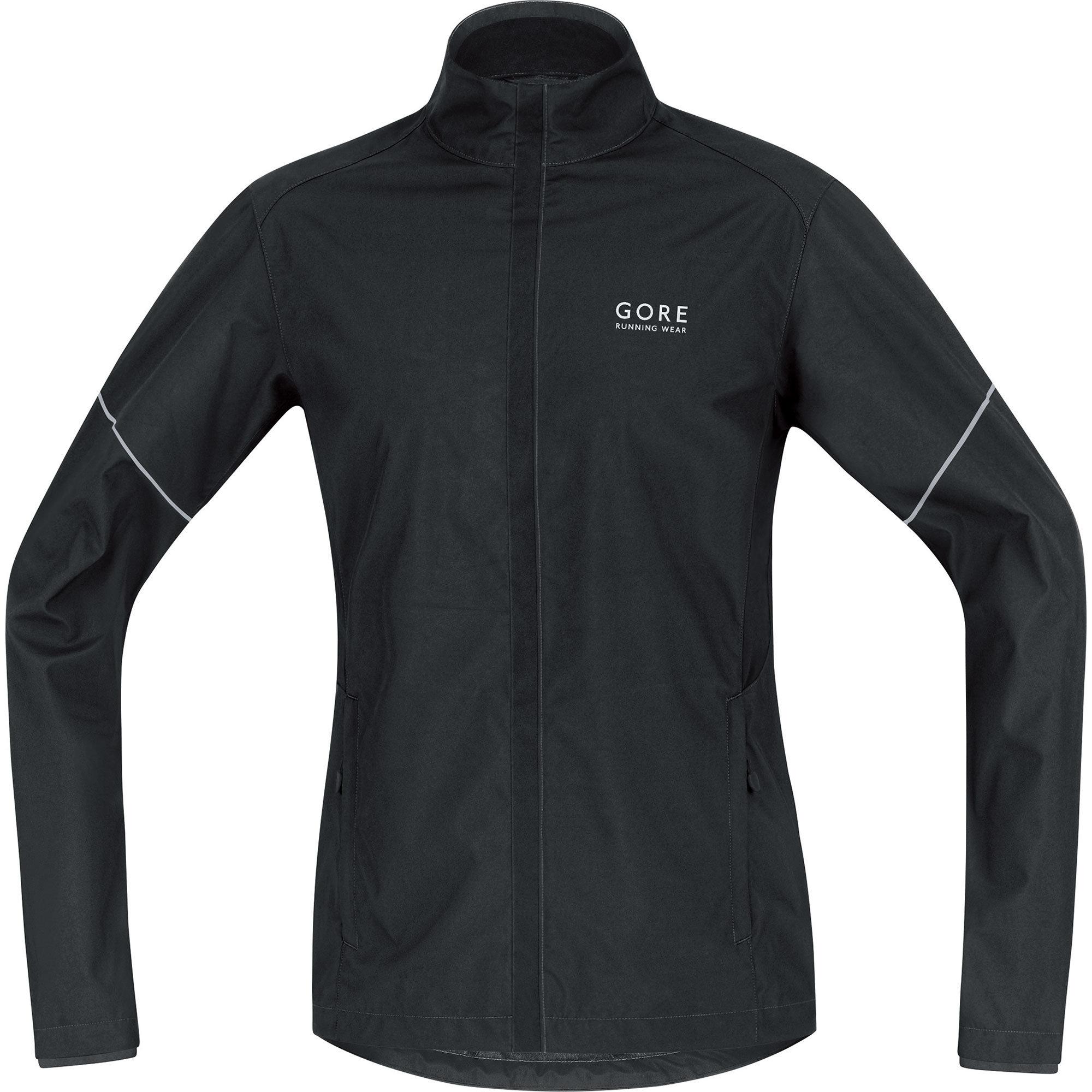 Gore Essential AS Partial Jacket in Schwarz