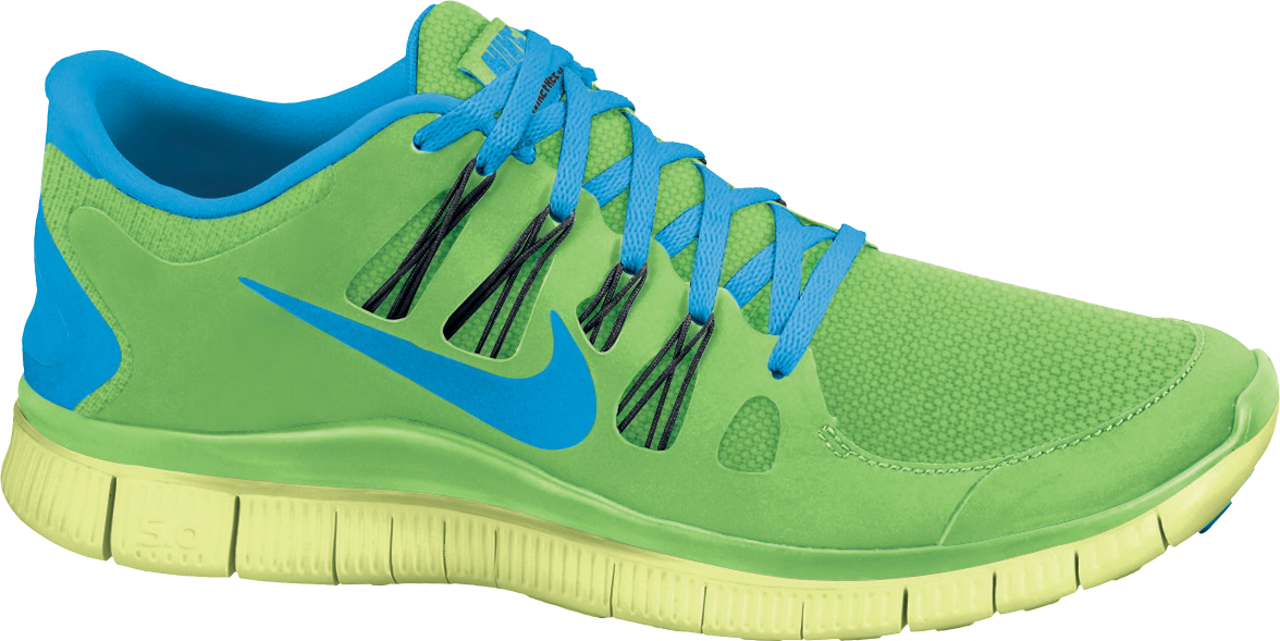 Nike Free 5.0+ in Flash Lime