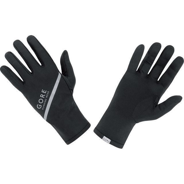 Gore Essential Light Gloves in Schwarz