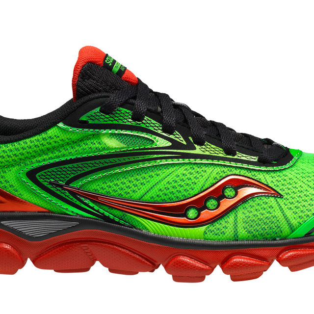 Saucony Virrata 2 in Slime/Black/Red