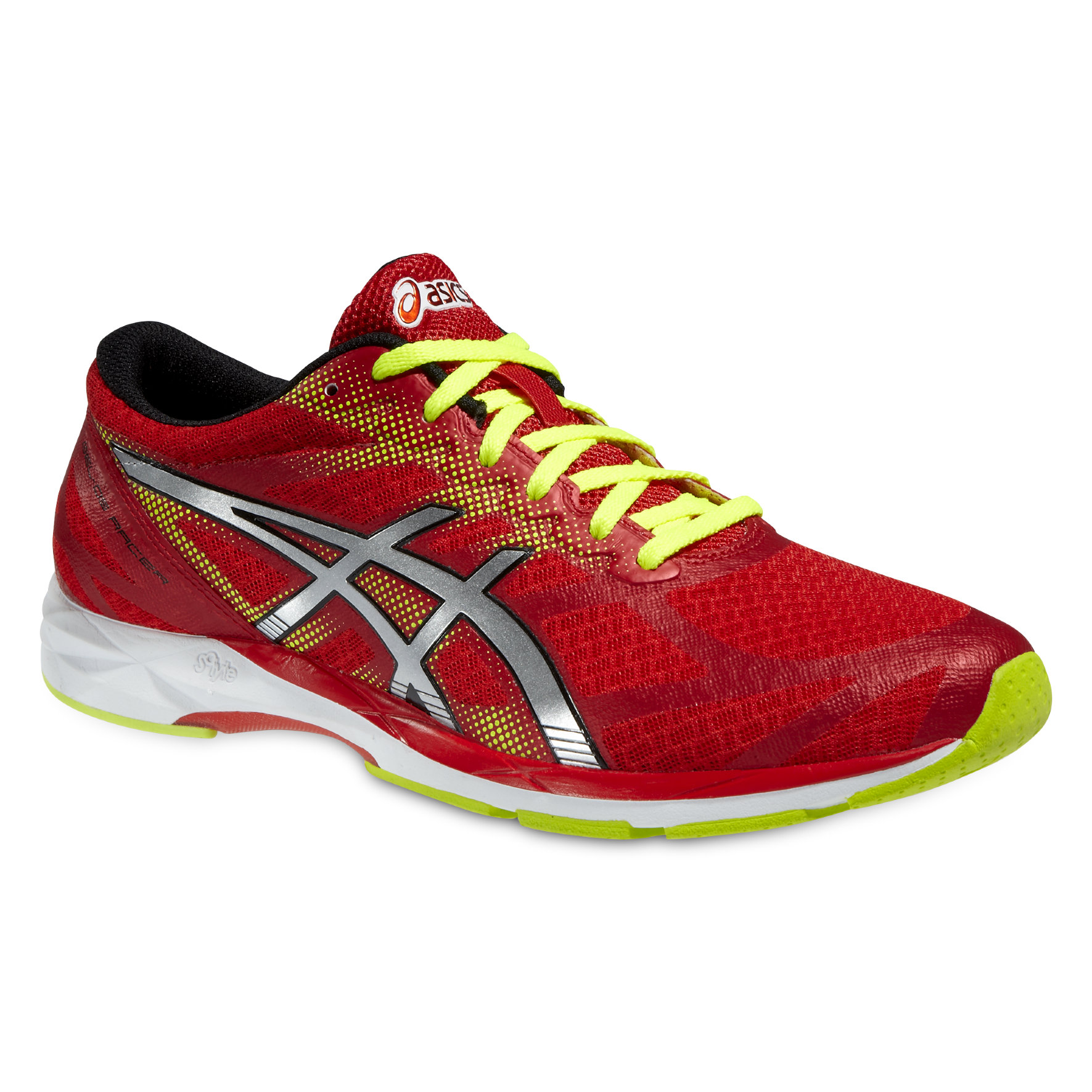 Asics Gel DS Racer 10 in Rot, Gelb