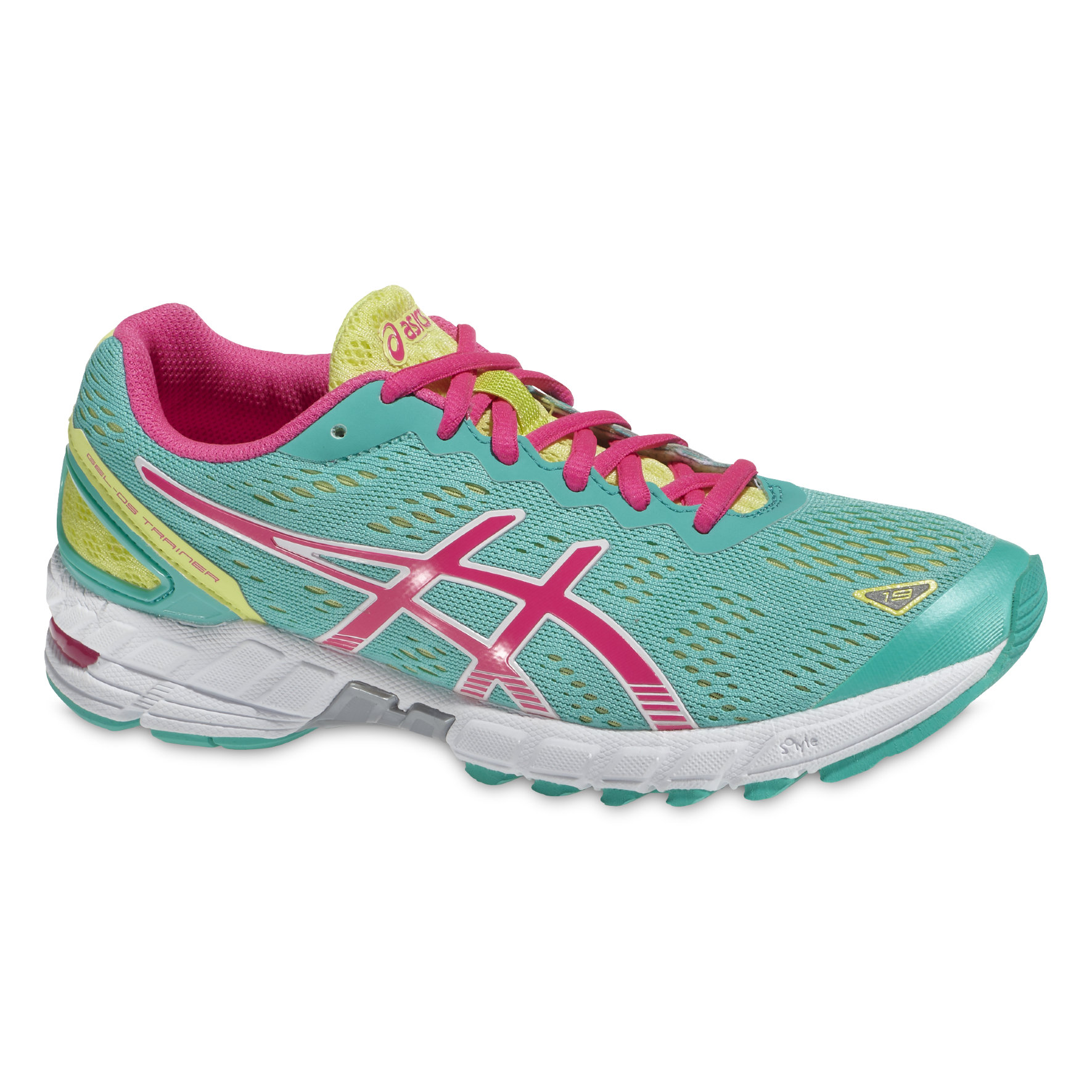 Asics Lady Gel DS-Trainer 19 in Grün, Pink