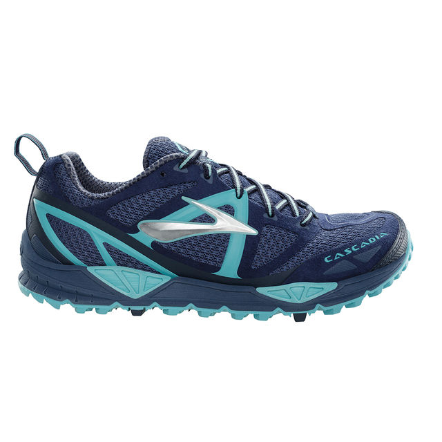Brooks Lady Cascadia 9 in Blau