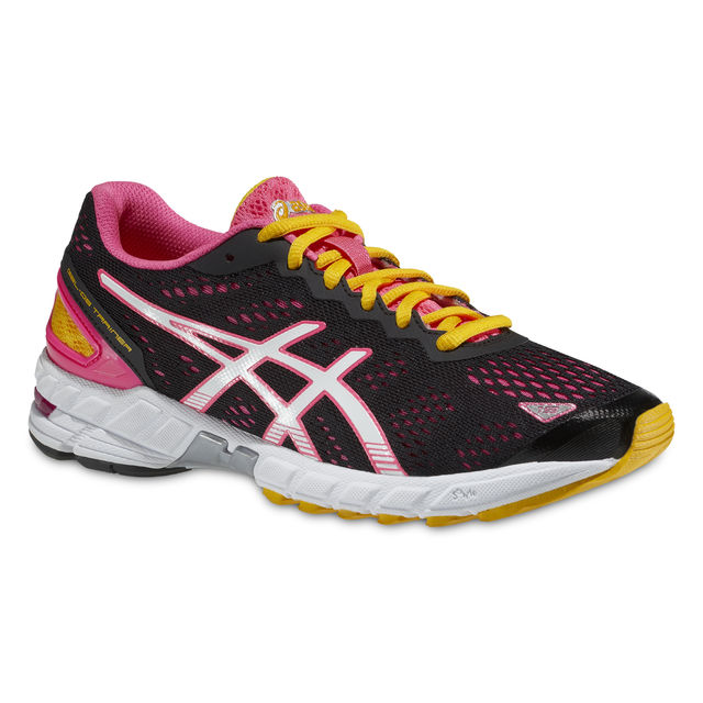 Asics Lady DS Trainer 19 in Schwarz Pink