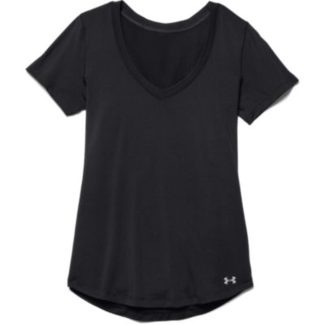 Under Armour Lady Perfect Pace T in Schwarz