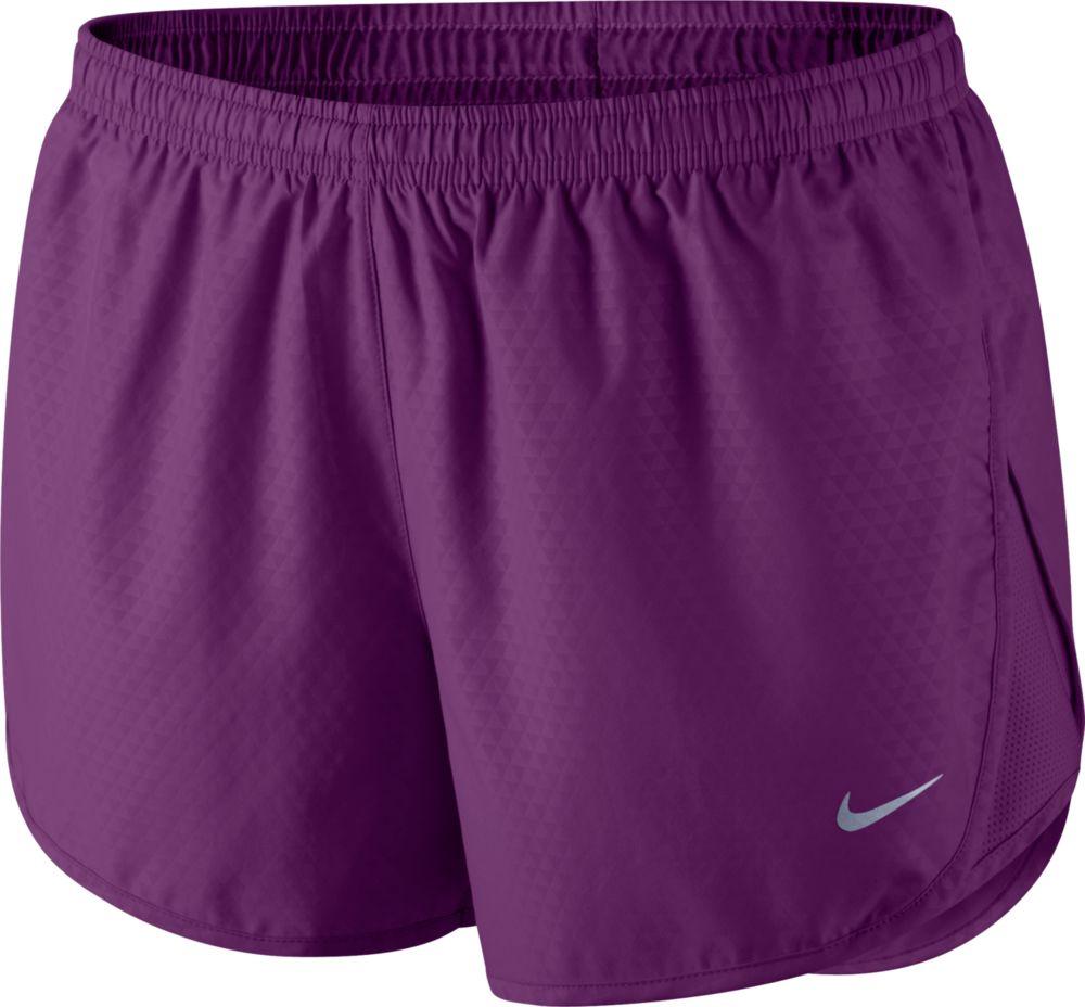 Nike Lady Modern Tempo Emboss Run Short in Grape