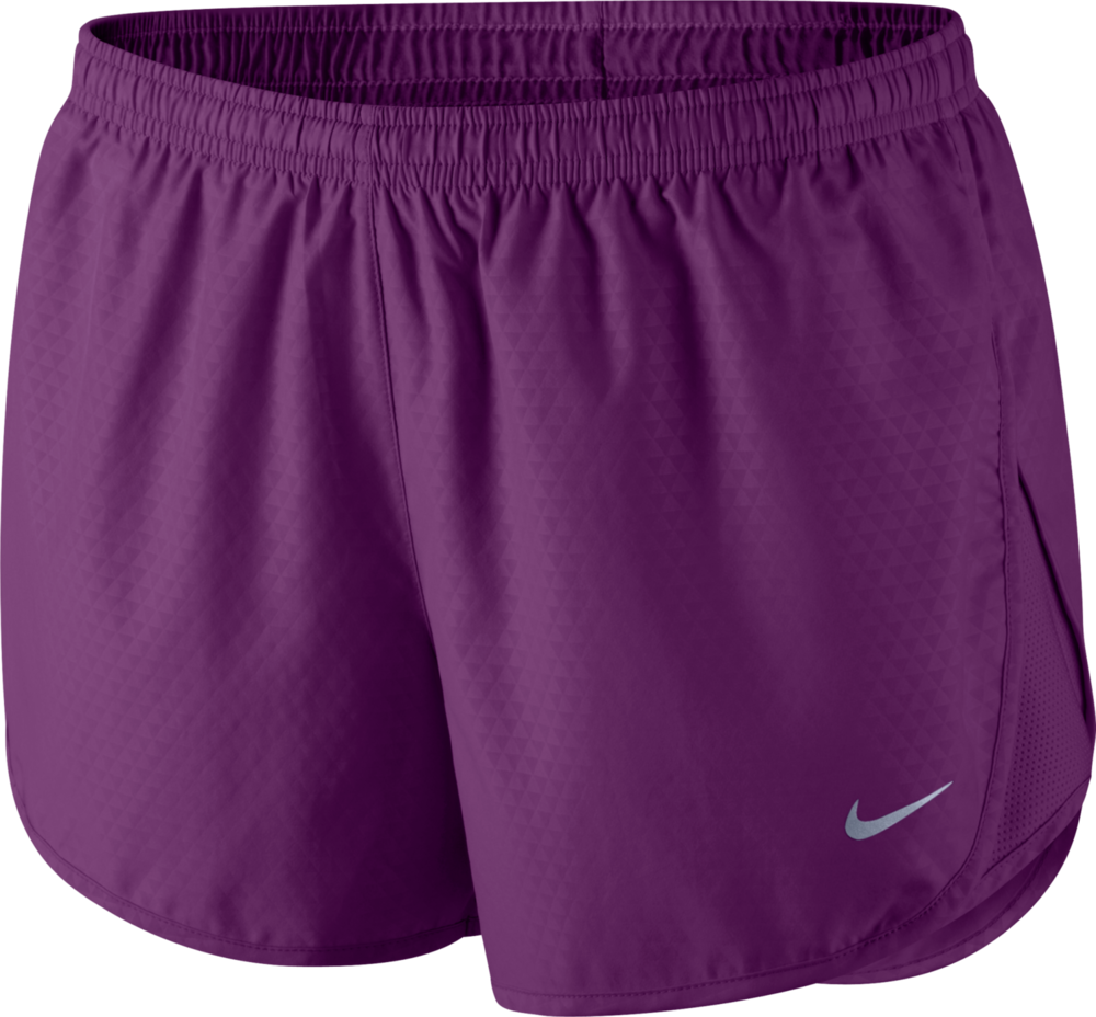 Nike Lady Mod Tempo Emboss Run Short in Grape