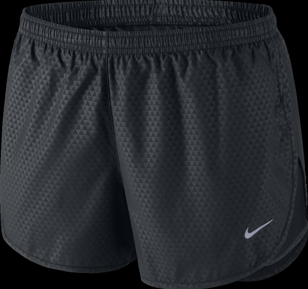 Nike Lady Mod Tempo Emboss Run Short in Schwarz