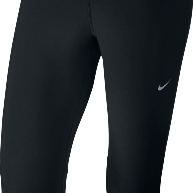 Nike Tech Capri in Schwarz