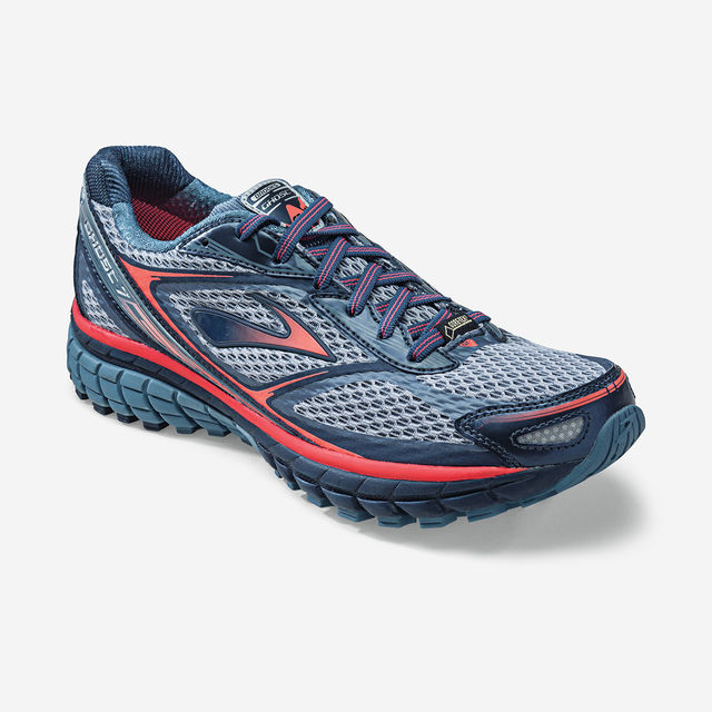 Brooks Lady Ghost GTX in Grau Rot