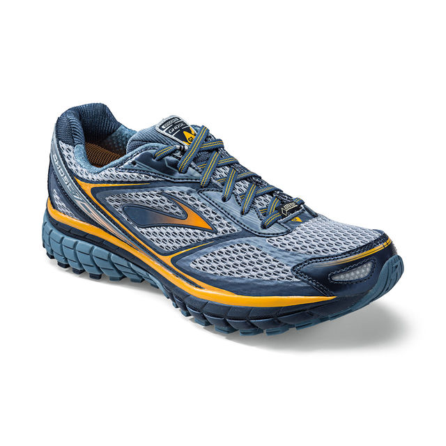 Brooks Ghost GTX in Grau Gelb
