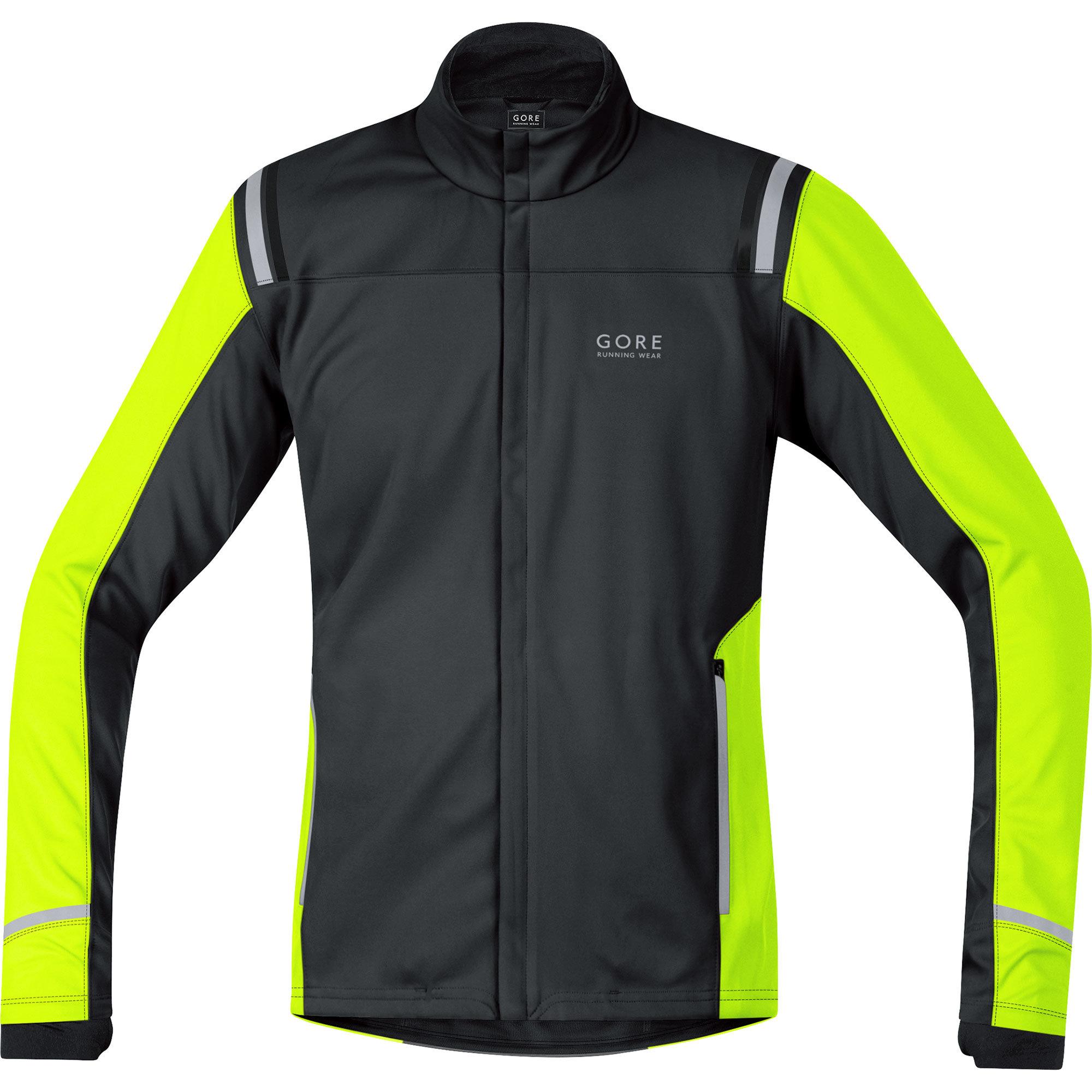 Gore Mythos 2.0 WS SO Jacket in Schwarz, Gelb