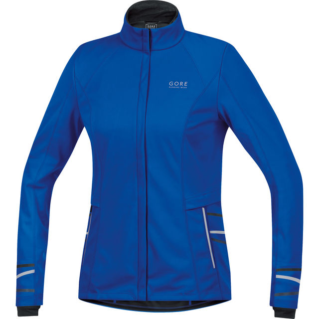 Gore Lady Mythos 2.0 WS SO Jacket in Blau