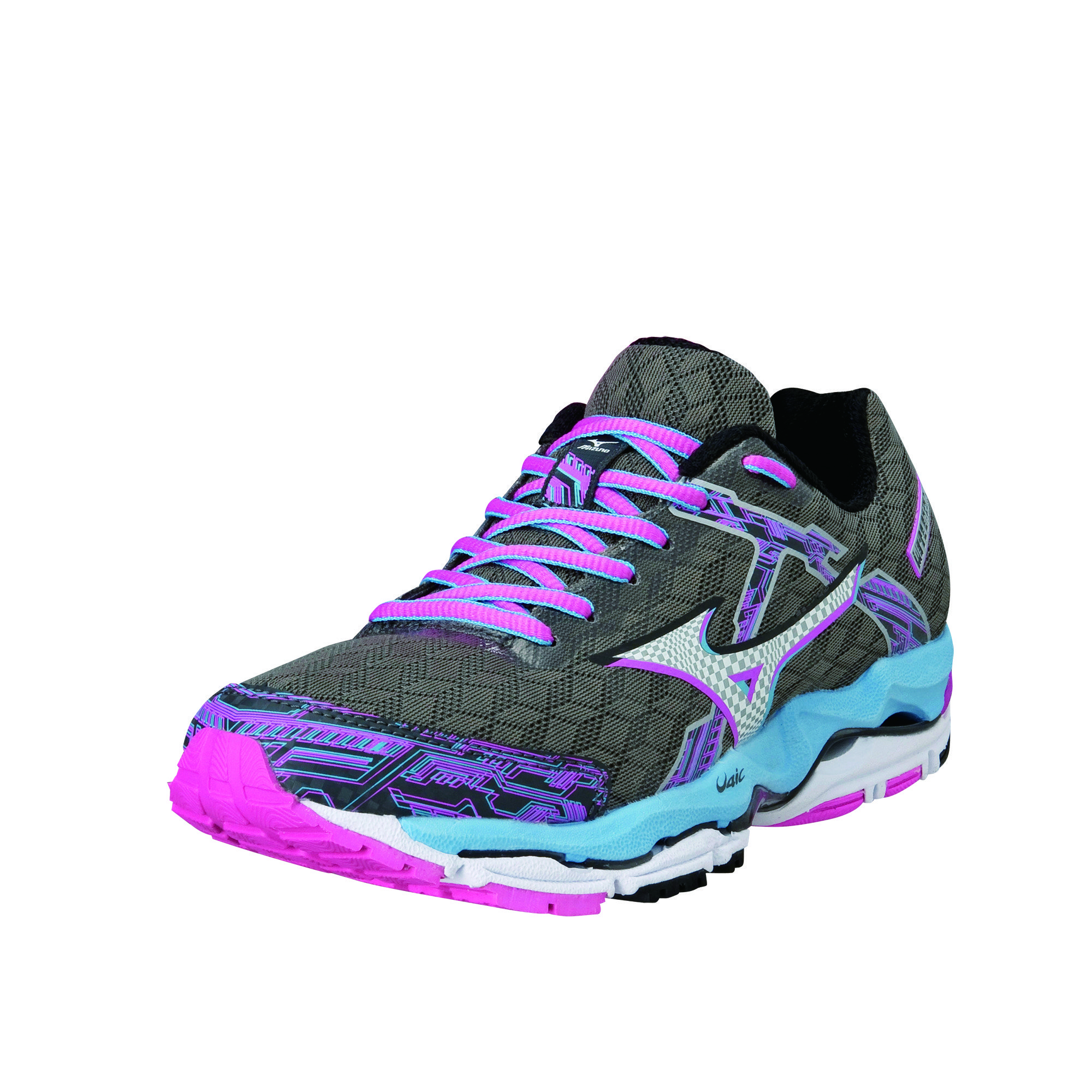 Mizuno Lady Wave Enigma 4 in Grau Pink