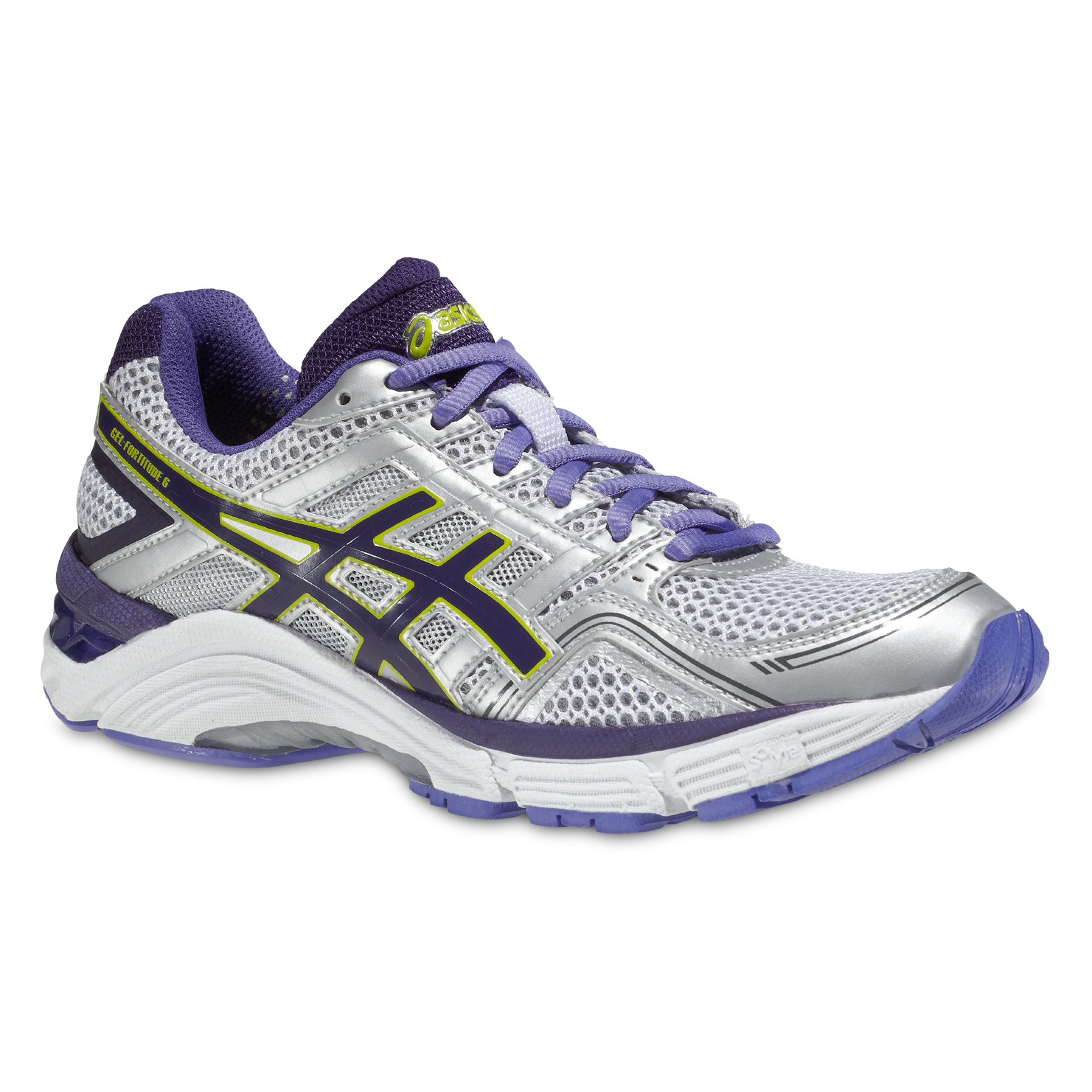 Asics Lady Gel Fortitude 6 in Weiß, Violet