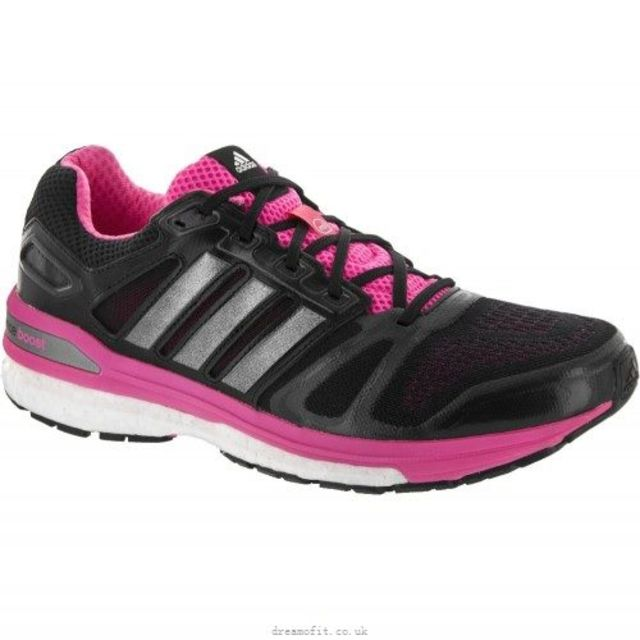 adidas Supernova Sequence 7 w in Schwarz Pink