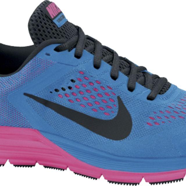 Nike Lady Structure + 17 in Blau, Schwarz, Pink