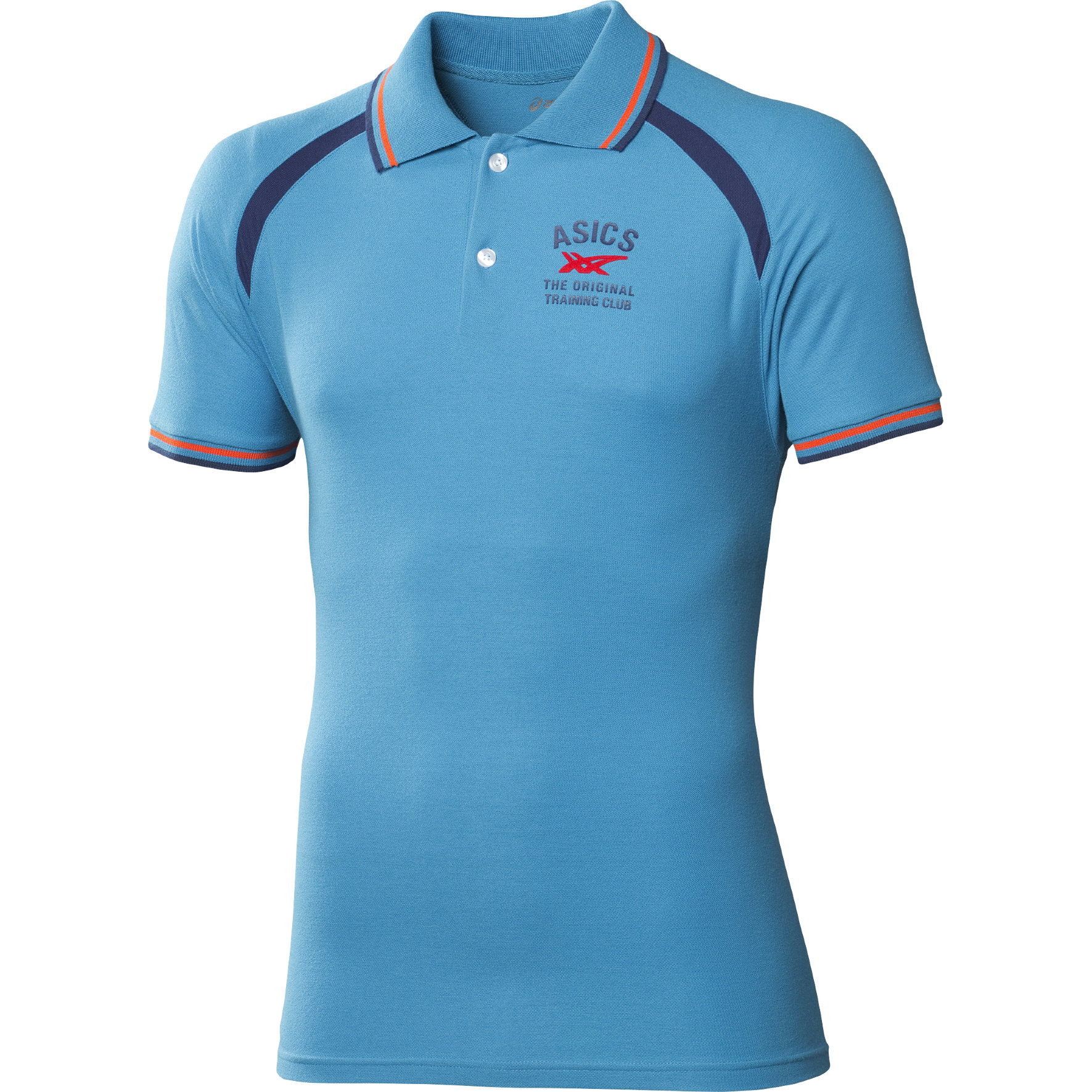 Asics SS Polo in Blue