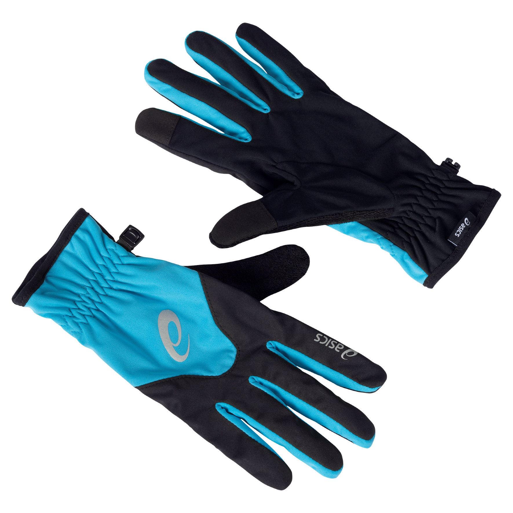 Asics Winter Glove Men in Blau