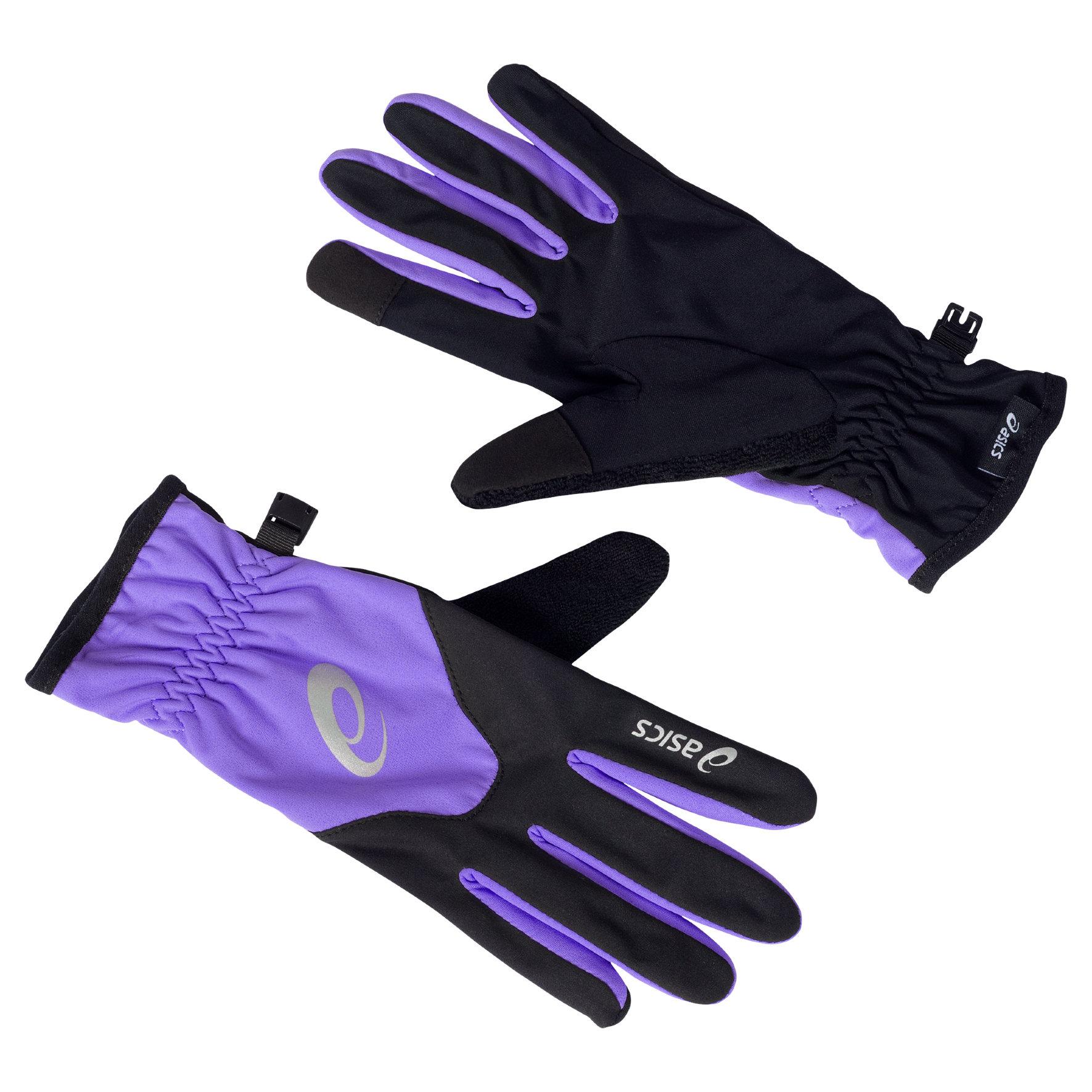 Asics Winter Gloves Woman in Purple