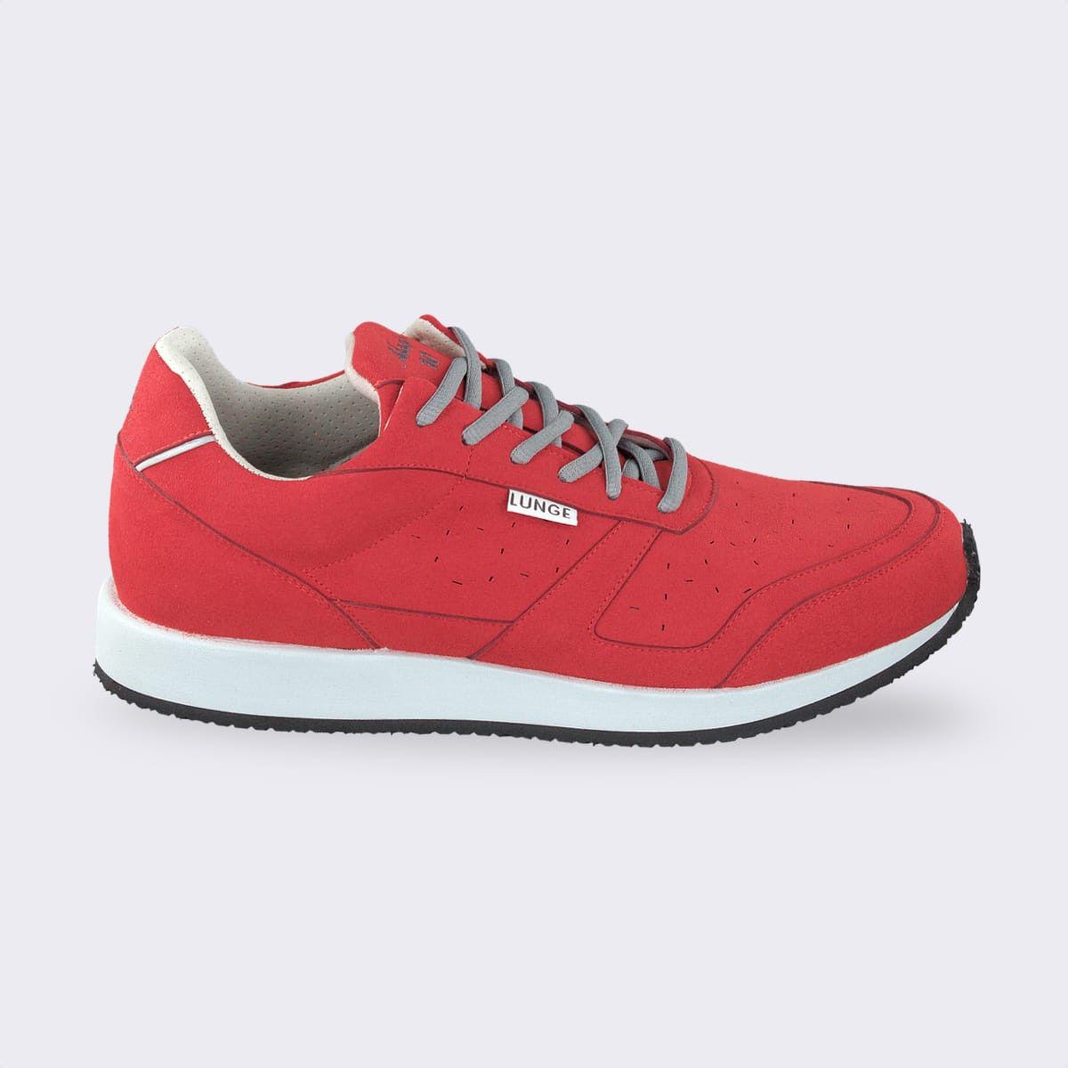 Lunge Classic Walk in Rot Grau
