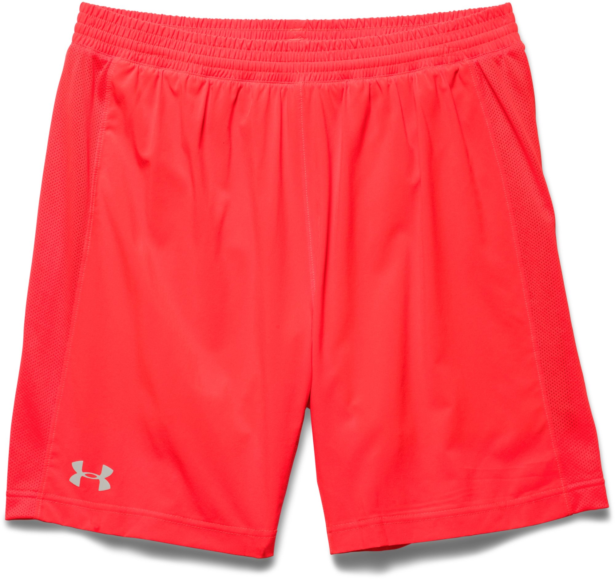 Under Armour Launch 2in1 Short in Orange