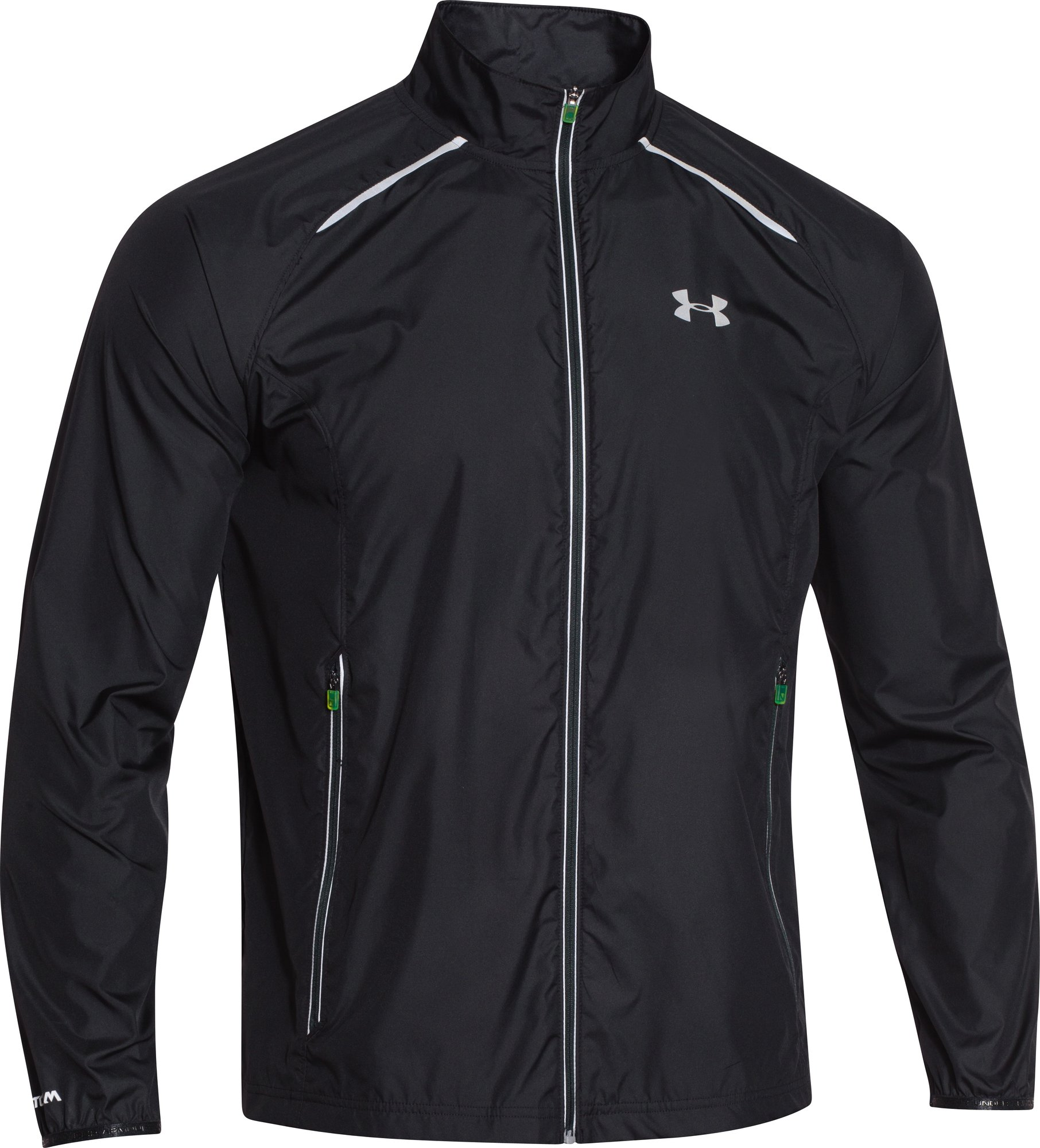 Under Armour Storm Launch Run Jacket in Schwarz