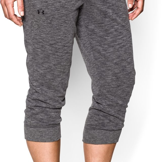Under Armour Lady Kaleidalogo Solid Capri in Dunkelgrau