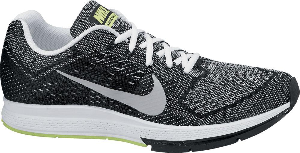 Nike Zoom Structure 18 in Grau Schwarz