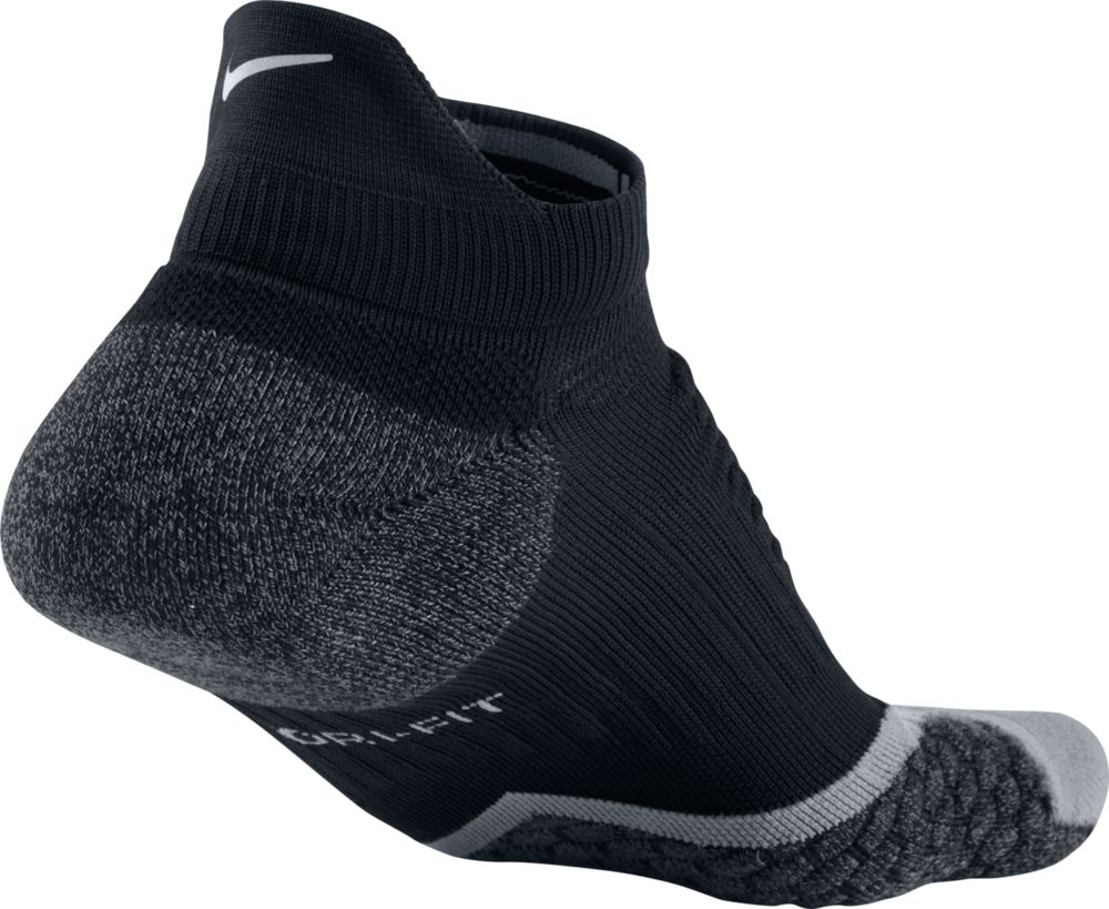 Nike Elite Cushioned No-Show Tab in Schwarz