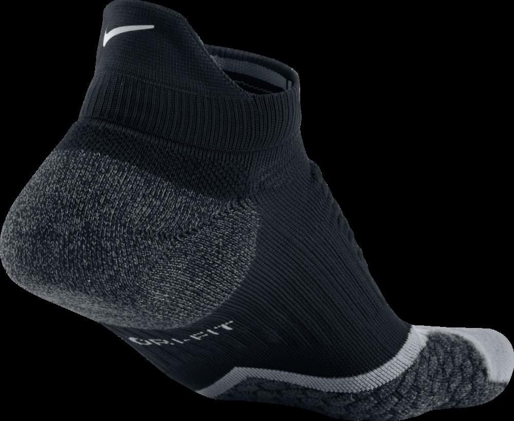 Nike Elite Cushioned No-Show Tab in Schwarz