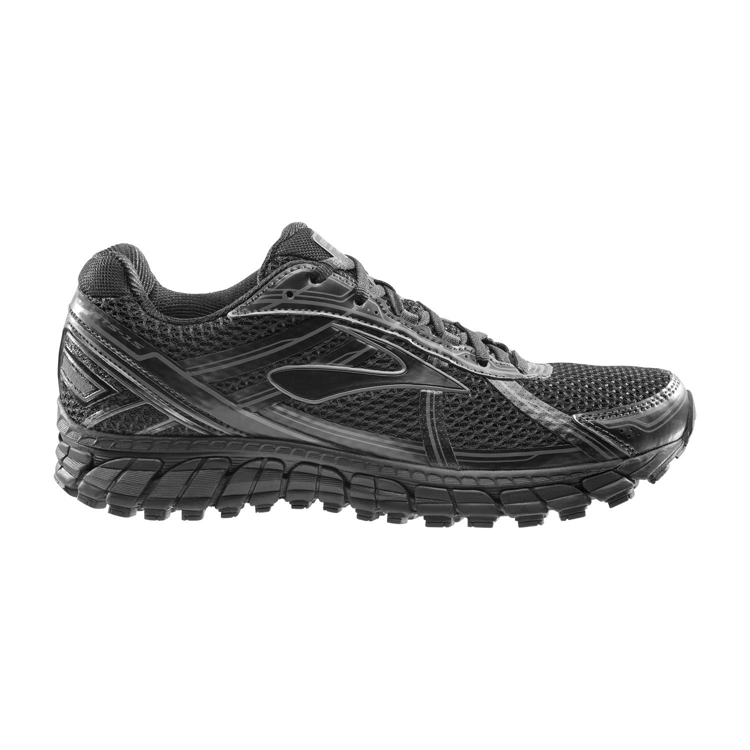 Brooks Adrenaline 15 Black in Schwarz