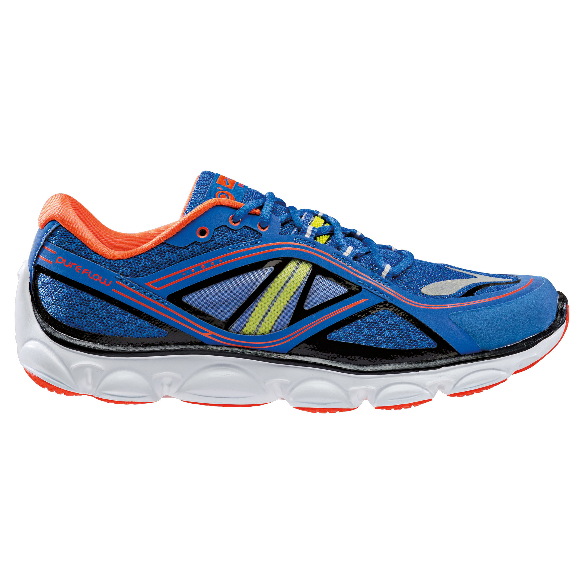 Brooks Kids Pureflow 3 in Blau, Orange