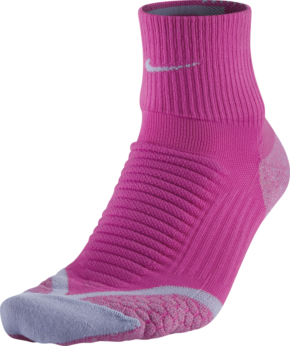 Nike Elite Cushion Crew in Pink