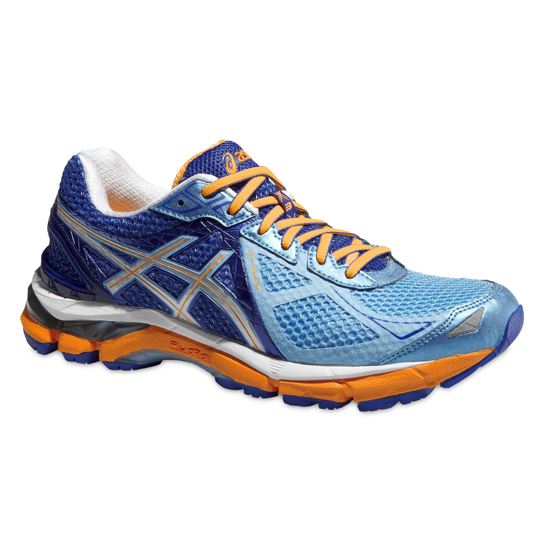 Asics Lady GT 2000 3 2a in Blau/Orange