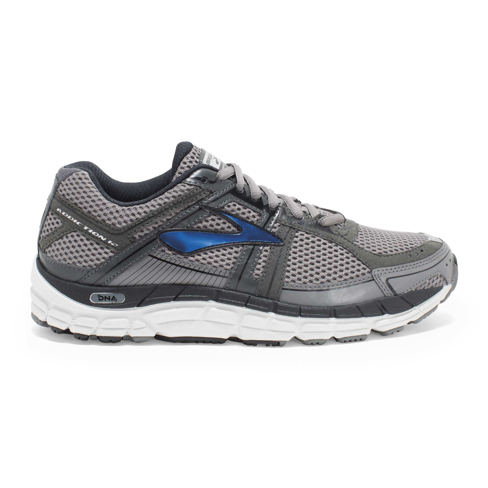 Brooks Addiction 12 D in Grau Blau