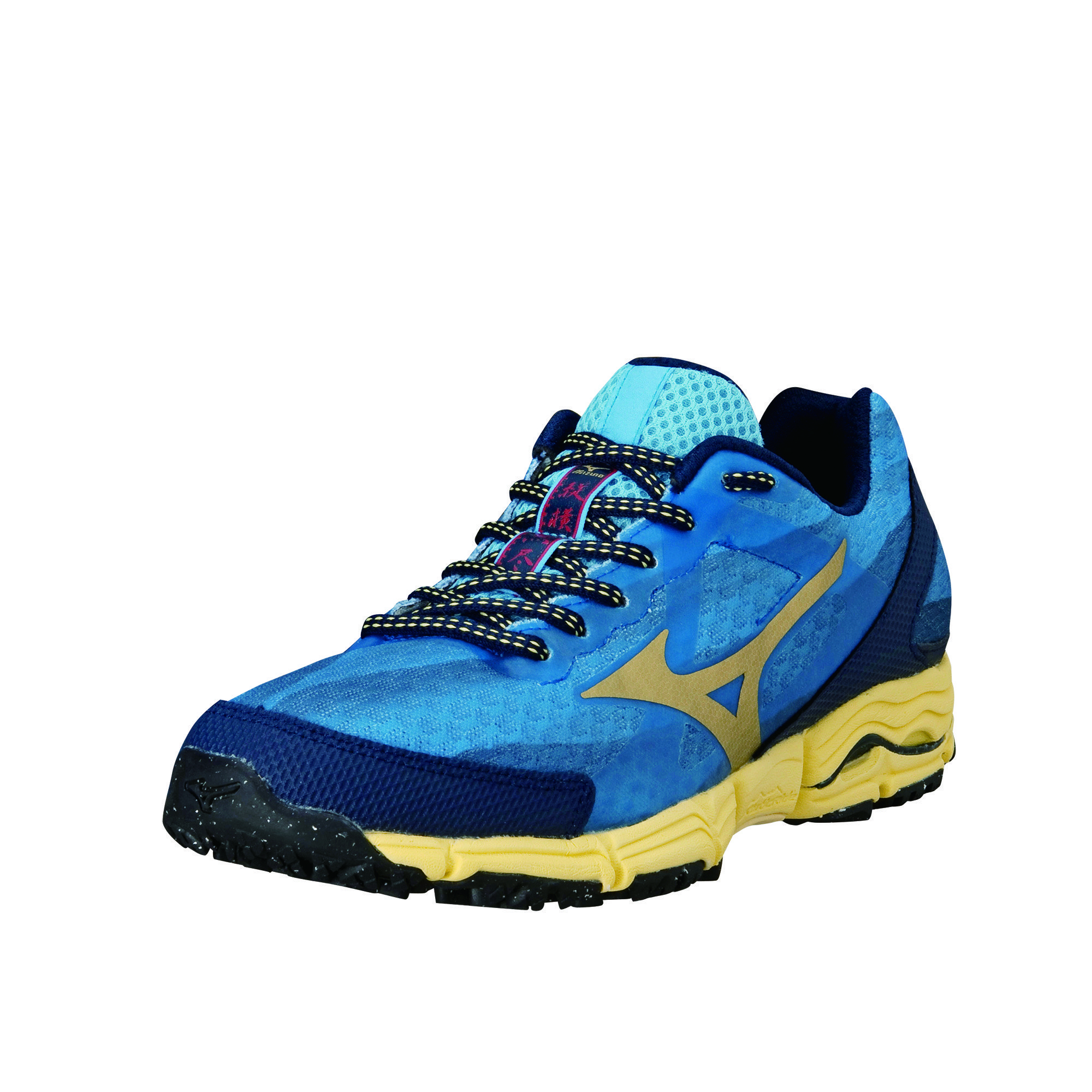 Mizuno Lady Wave Mujin in Blau Gelb