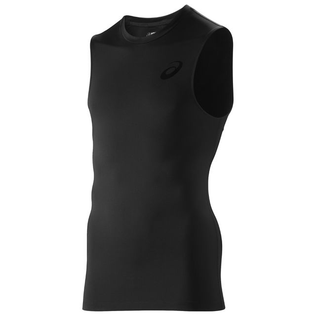 Asics IM Sleeveless Top in Schwarz