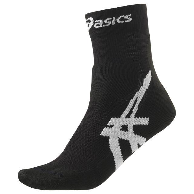 Asics Cumulus Sock in Schwarz